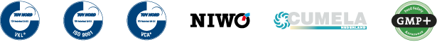 Certificering-logos